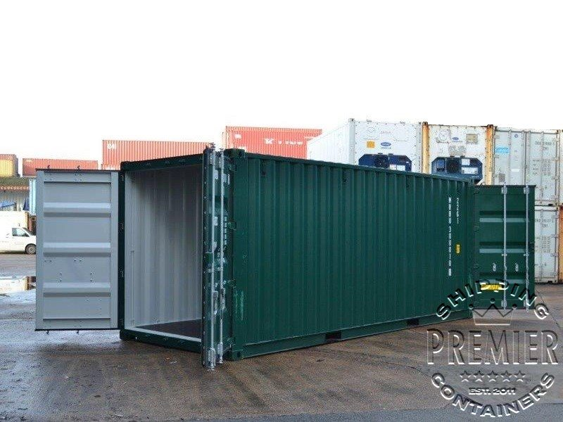 Tunnel Shipping Containers