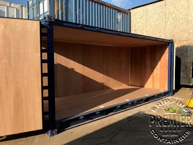 Lined and Insulated Side Opening Containers