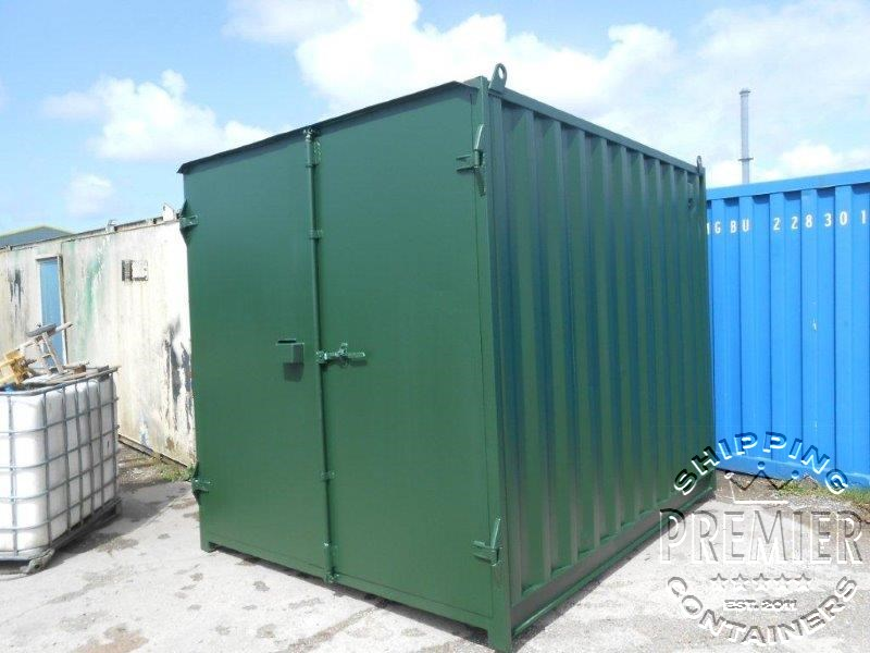 10ft Shipping Containers - Premier Shipping Containers