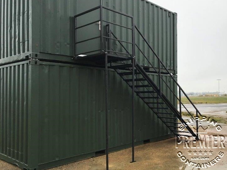 Shipping Container Stairs Premier Shipping Containers