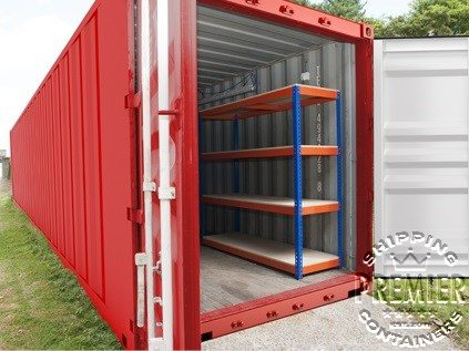 Shipping Container Racking